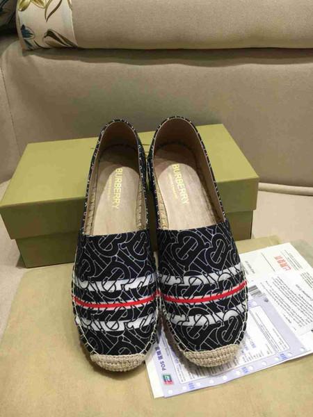 Grande taille Chaussures simples Automne 2019 Nouvelle Version Coréenne Rétro britannique Crocheté plat avec des haricots plats Belles Chaussures femmes S