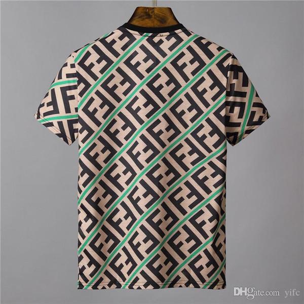 NEW Brands Summer Wear Men 3D FF ROMA Printed T-Shirt Hot Sale Crew Neck Short Sleeves Top Man 100% Cotton women star t-shirt F1715