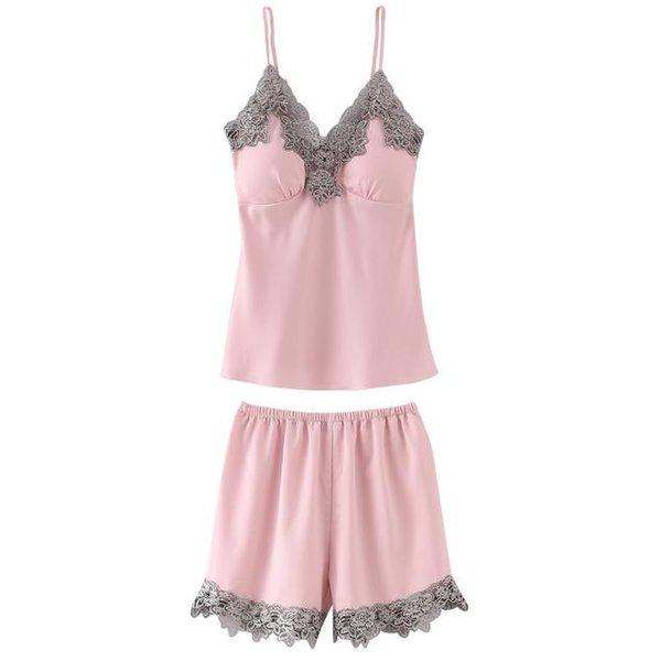 Shorts Set Pink