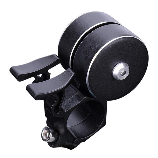 Wanweileg Bicycle Retro Horn Campana Double Click 120db Mtb Easy Install Accessori per manubrio Accessori in lega di alluminio Anello Bell 001