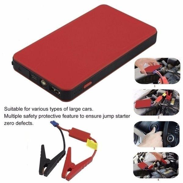 Mini Emergency Starting Device 20000mAh 12V Car Battery Booster Portable Car Jump Starter Emergency Power Bank Battery