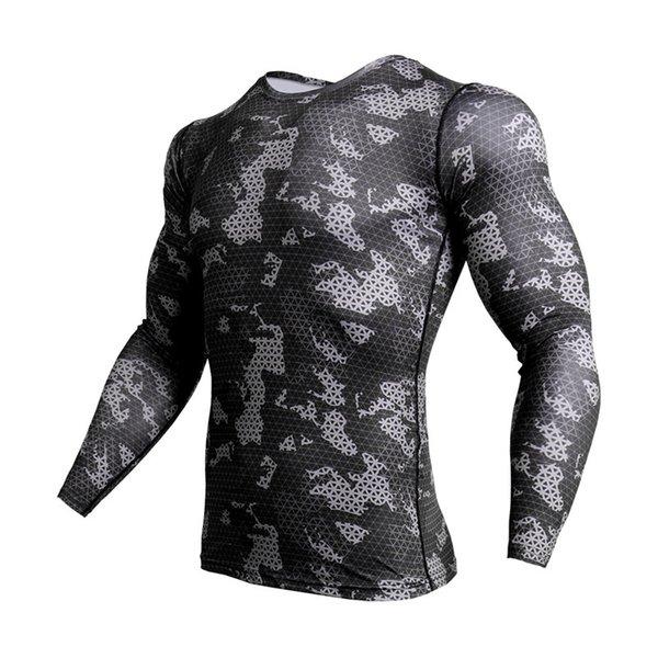 Black gray T-shirt
