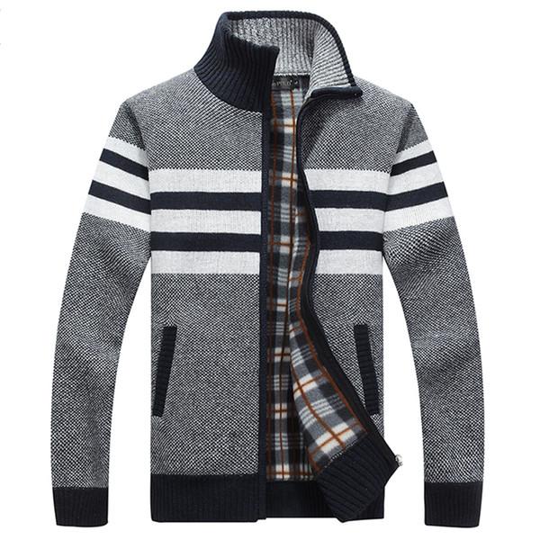 2019 nueva llegada chaqueta de invierno de los hombres gruesos abrigos de algodón Parkas abrigo prendas de vestir exteriores con cremallera chaquetas de invierno para hombre abrigo Parka