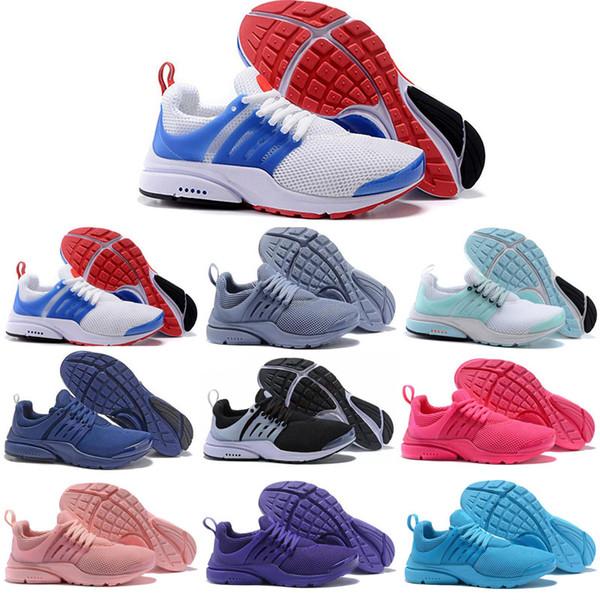 nike air presto  QS BR Chaussures De Course Hommes Femmes Brésil Impie Cumulus Triple Blanc Noir Créateur De Mode Jogging Baskets De Sport