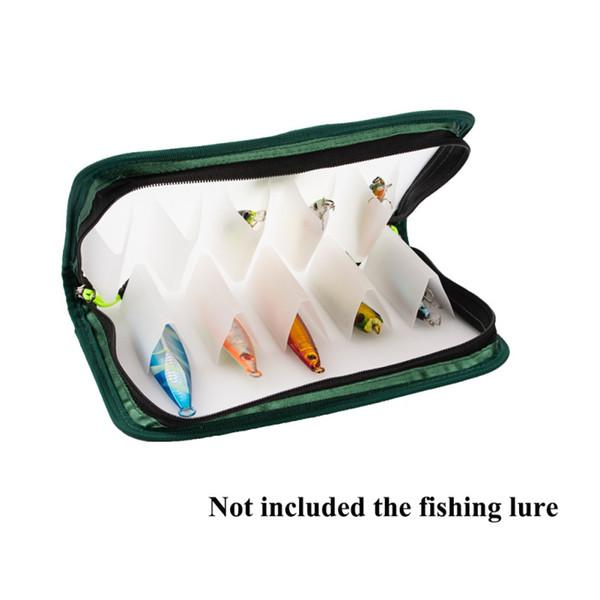 10-vissen box accessoires tackle kunstaas bait storage case garnalen dozen voor visgerei aas pesca compartimenten lokken doos thumbnail