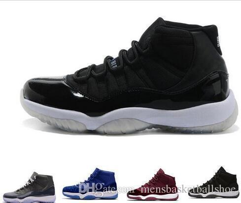 Prom 11s Night mens basket shoes 11 Hommes Femmes casquette et robe Gym Rouge espace confiture concorde PRM Heiress élevé gamma bleu Sports Sneaker
