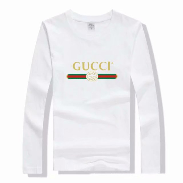 De mujer, de manga larga, de lujo, 100% algodón, camisetas, diseñador de moda, camisetas activas, camisas, camisas, tops, 9 colores