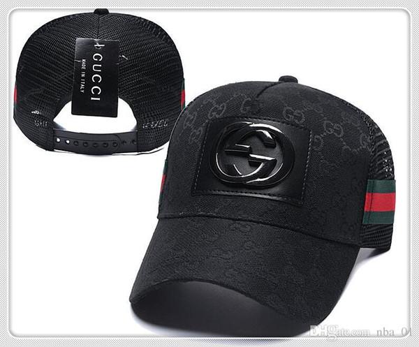 Venta al por mayor nbspGUnbspCCI Top Sale diseñador Cap Snapback Gorras de béisbol Ocio Ajustable Snapbacks Sombreros Casquette deporte de golf al aire libre