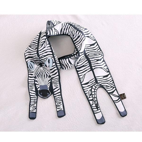 Zebra Animal Scarf 12