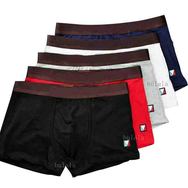 100% Luxury Designer Boxer Mens Cotton Underwear Short For Man Luxury Sexy Underwear Casual Short Man Gay Trunks Adult New Shorts