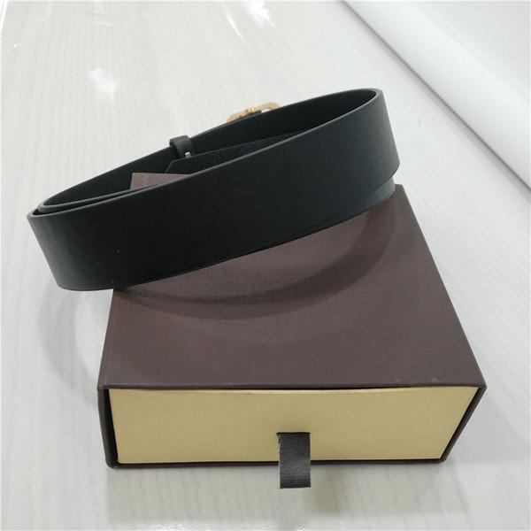 Cinturones de diseño para hombres Cinturones de diseño Cinturón de lujo Cinturones de cuero de cuero Cinturones de negocios Gran hebilla de oro de regalo con caja original B02