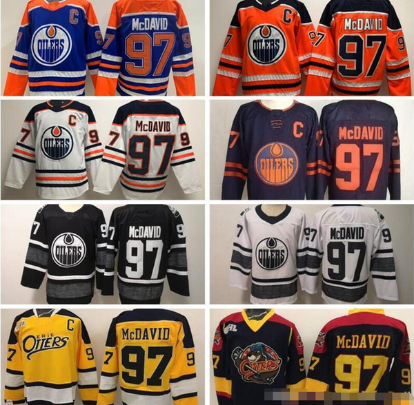 oilers black and orange jersey