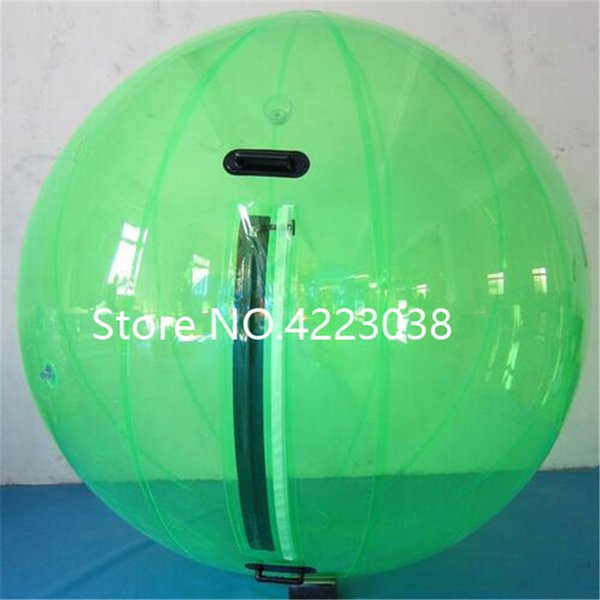 Free Shipping 2M PVC Clear Inflatable Human Hamster Ball Water Walking Ball Inflatable Water Zorb Ball Giant Inflatables