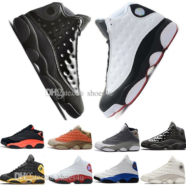New 13 13s Cap And Gown Terracotta Blush Mens Basketball Shoes He Got Game Black Infrared Flints Bred Men Sports Sneakers Designer Outdoor