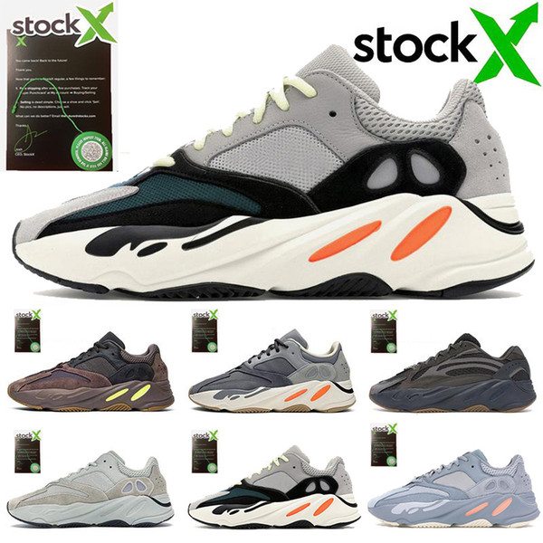 top popular with stock x tags 700 Runner 2019 New Mens Women Athletic Best Quality 700s Sports Running Sneakers Designers Shoes TTU-1 2020