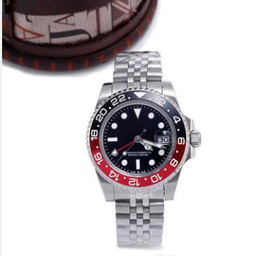 4 цвета New l uxury часы 40 мм Sapphire Wristwatch автоматические механические мужские часы Цепь из нержавеющей стали