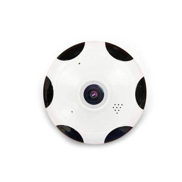 Telecamera IP panoramica a 360 gradi Fisheye 3D VR 1080P Wireless Wireless 2.4GHZ Telecamera di sicurezza Super grandangolo Supporto IR Night