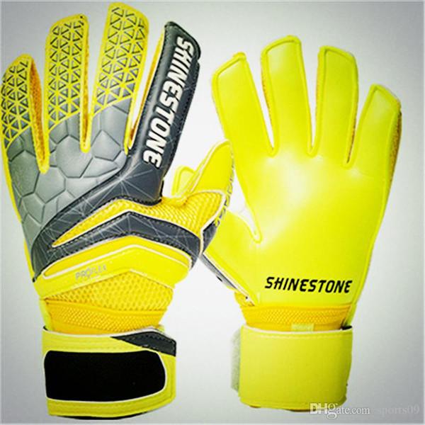 Professional Soccer Goalkeeper Glvoes Latex Finger Protection Fingerstall School Men Adult Football Goalie Gloves