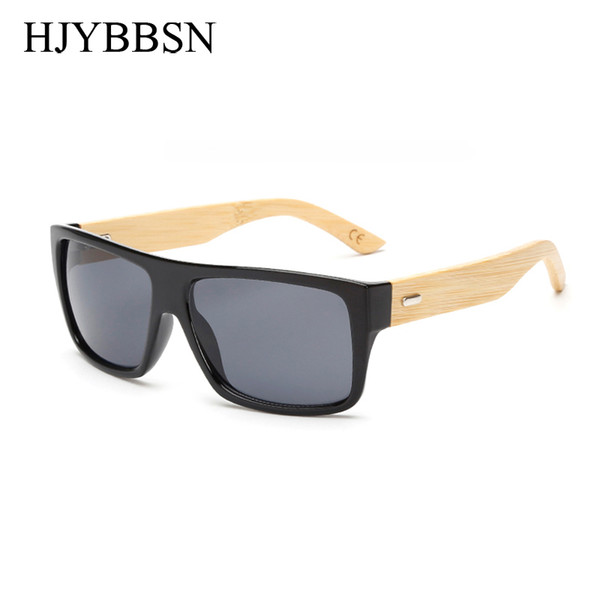 best selling Bamboo Sunglasses Men Women Mirrored Uv400 Sun Glasses Real Wood Shades Gold Blue Outdoor Goggles Sunglases Male