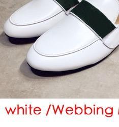 حزام معدني أبيض