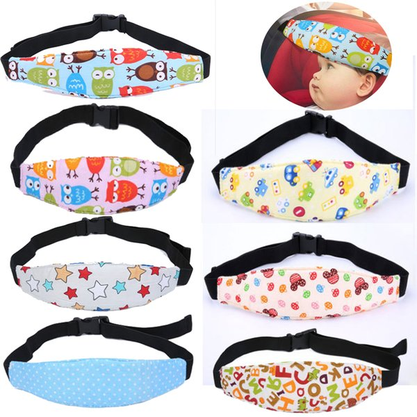 Baby Car Seat Safety Headrest Pillow Sleeping Head Support Pad For Kids Travel M