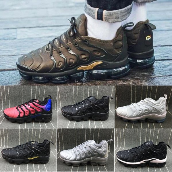 best selling new top tn plus running shoes Bumblebee Be Ture Hyper Blue Violet Pink Rise Tropical Sunset Game Royal mens women sports sneakers