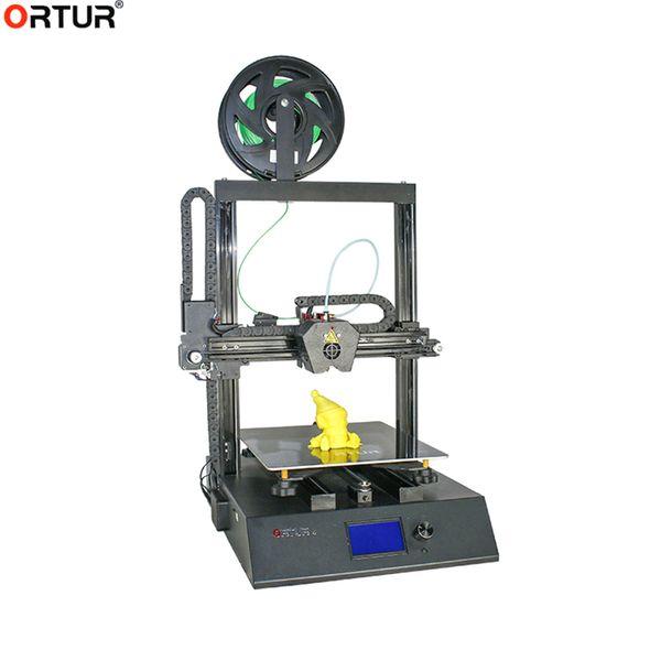 Mise à niveau Ortur4-V2 3D Imprimante 260x310x305MM Grand Taille Plus haute précision à deux axes Z TFT Rail de guidage linéaire Imprimante 3D 2019 récent