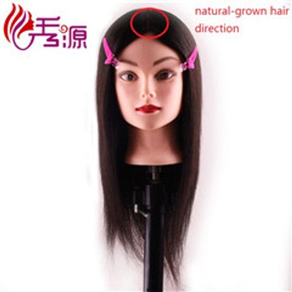 518type Natural-grown Hair Direction