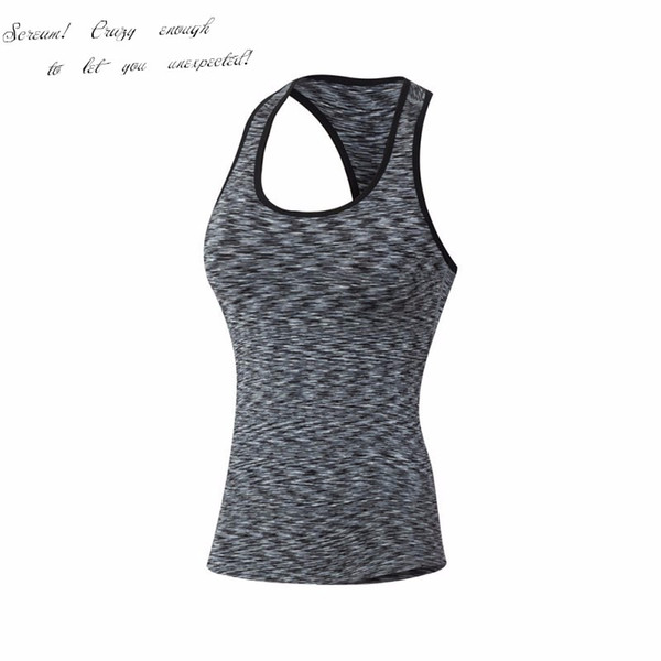 2018new women fitness sports yoga tank quick dry vest workout camo stretch t shirt ladies vest no rims tank thumbnail