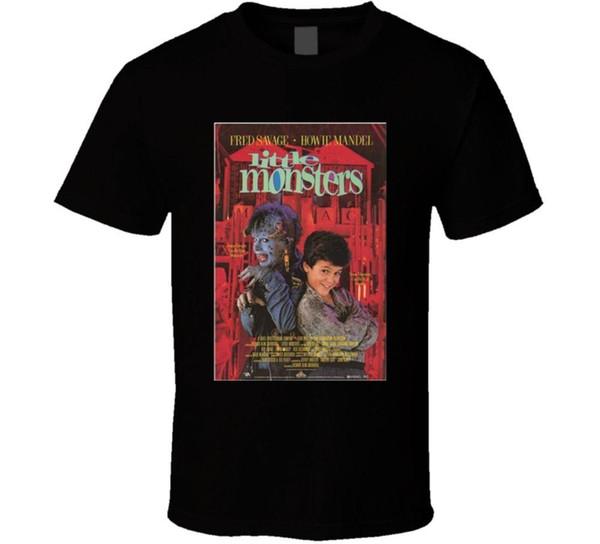 Compre Pequenos Monstros Cool Comédia Dos Anos 80 Clássico Do Filme Do Filme Cartaz Fã T Shirt Harajuku Legal T Shirt Homme Casual Homens De Fitness