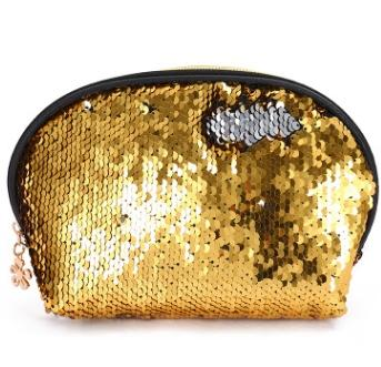 #1 Sequins Cosmetic Bag