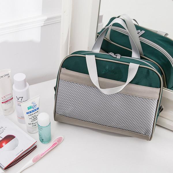 Viaggi PortableCosmetic sacchetto impermeabile di immagazzinaggio toeletta Wash Organizzatore bagno cassa a raccogliere scorte Custodia bagagli Accessori