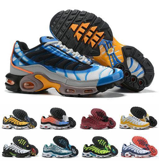 2019 Plus QS Ultra Se Chaussures De Course Pour Hommes Orange Bleu Or Designer Hommes Sport Designer Baskets Chaussures Zapatillas Taille 40-46