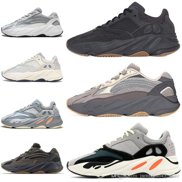36-46 Utility Black 700 Vanta 3M Мужские кроссовки Static Reflective Geode Tephra 700 Wave Runner Канье Уэст Женская спортивная обувь