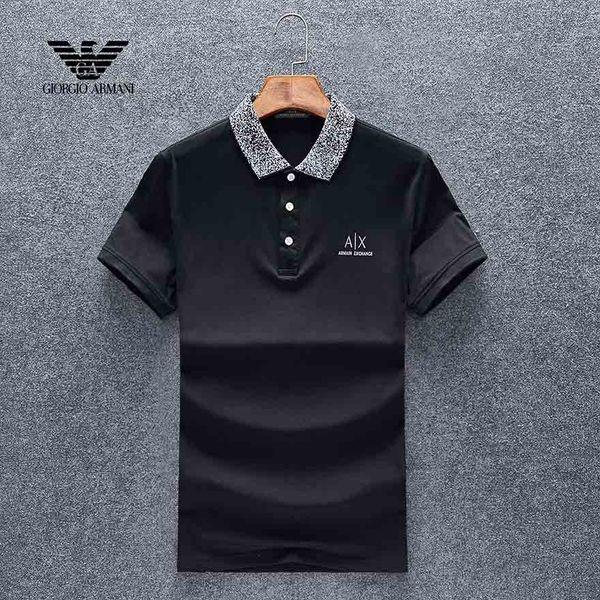 2019 новые классические дизайнеры рубашки поло модные бренды футболки мужского качества с коротким рукавом рубашки поло дышащая футболка M-3XL