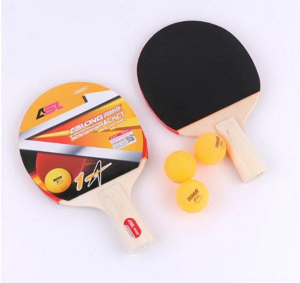 Gymnastik New Card-saugen Tischtennisanzug Tischtennisschläger horizontale fertigen Schläger PPQ Tischtennisschläger