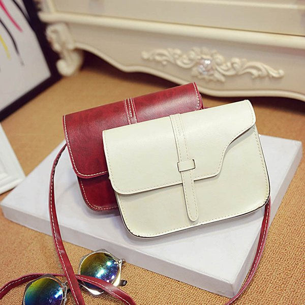 2016 Women bag Ladies Multi Color Leather Shoulder crossbody bags womens messenger handbags bolsa feminina para mujer Ulrica