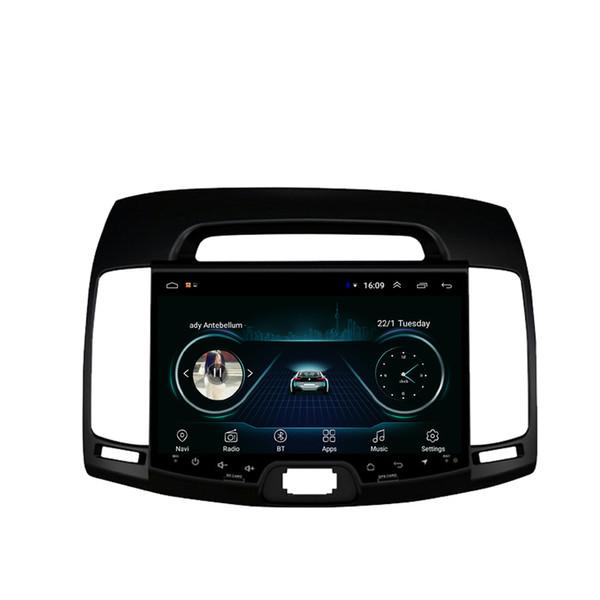 Android car free map radio HD1080 mp3 mp4 player bluetooth eccellente per Hyundai elantra avante 2007-2011 10.1 pollici