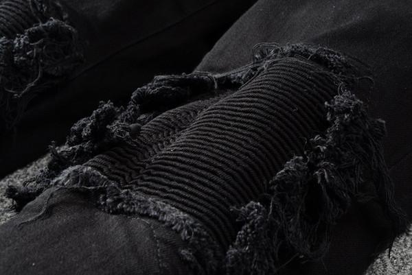 2019 Мири Оптовый представляет дизайнер одежды брюки уничтоженной мужских тонкого денима прямо велосипедист узких джинсов мужчину рваных джинсы