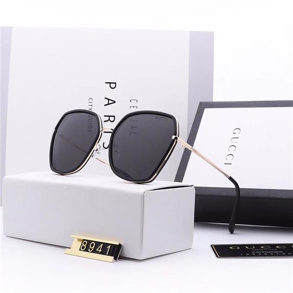 High Quality Designer Classic For Men Sun Glasse Driving Glasses Square Frame Double Bridge Metal Frame Glasses Thin Glasses With Better Box