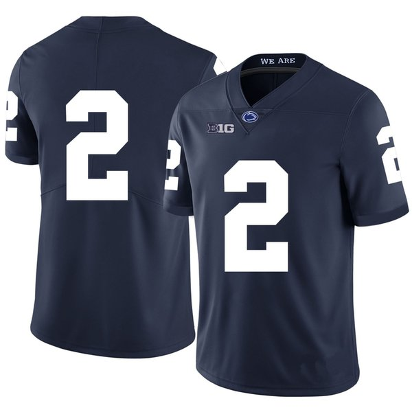 Kyle Carter Stitched Mens Penn State Nittany Lions Marcus Allen Malik Golden Mahon blocks White Navy Blue NCAA College Jersey