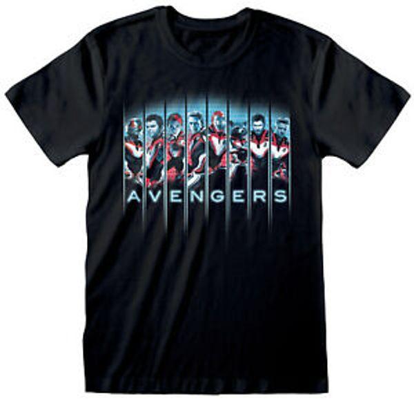 Marvel Avengers Endgame 039 Модельный ряд 039 BlaHip hop T Shirt НОВЫЙ ОФИЦИАЛЬНЫЙ усилитель
