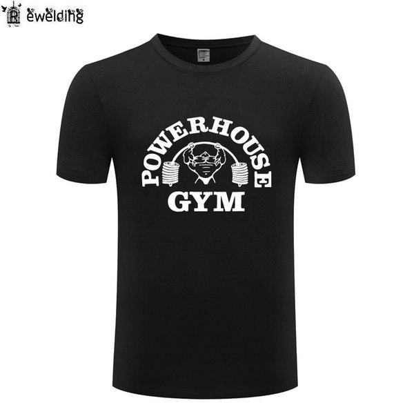 nouveau style 65ca1 e72c7 New Muscle Bodybuilding Printed Men T Shirt Fitness T Shirts Men Funny  Cotton Short Sleeve Man Tshirt Streetwear Tee Shirt Homme Shirts Funny  Designer ...