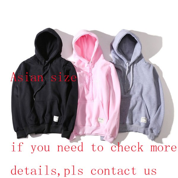 Neue Mode Hoodie Männer Frauen Sport Sweatshirt Größe S-XXL 5 Farbe Baumwollmischung Dicke Designer Hoodie Pullover Langarm Streetwear