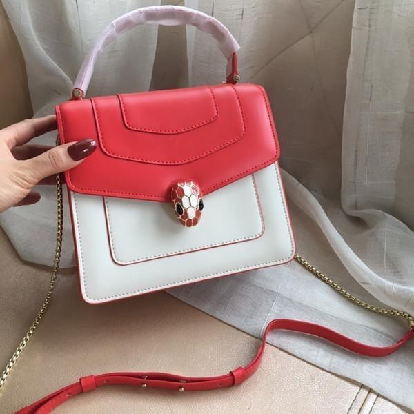Handtasche Mode Luxus Designer Taschen Taschen Messenger Bag Umhängetaschen 2019 Verkauf von Produkten 20cm Weich und zart Glanz