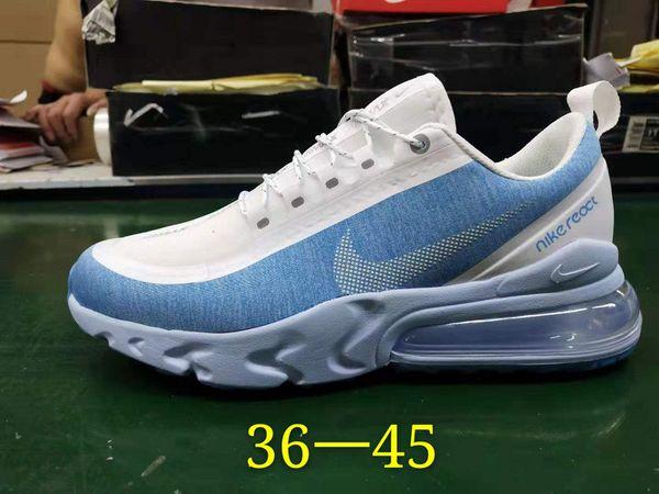 best selling 2020 Newest 270 V2 React Nightlight Waterproof Designers Running Shoes 270 V2 React Airmattress Shock Absorption Casual Sneakers