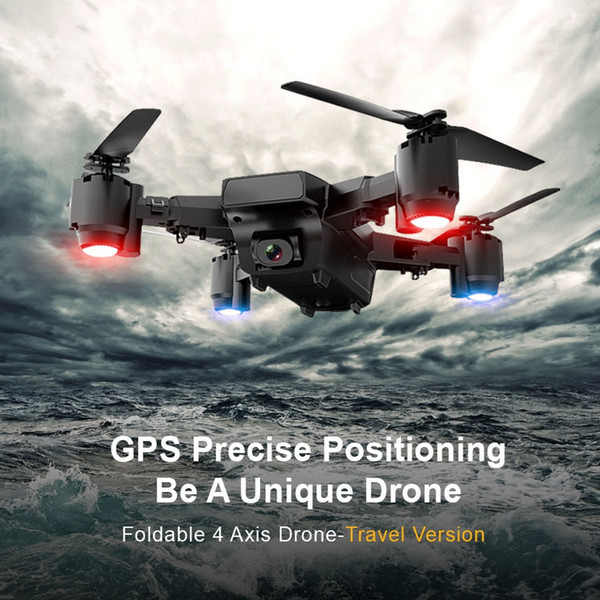wholesale Foldable Professional RC Drone Helicopter With Camera HD Radio Control Toy Headless GPS Quadcopter Toys