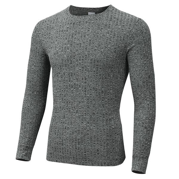 Muscleguys 2019 frühjahr neue rundhals warm plus größe männer langarm pullover pullover für männer slim fit dünne pullover männer