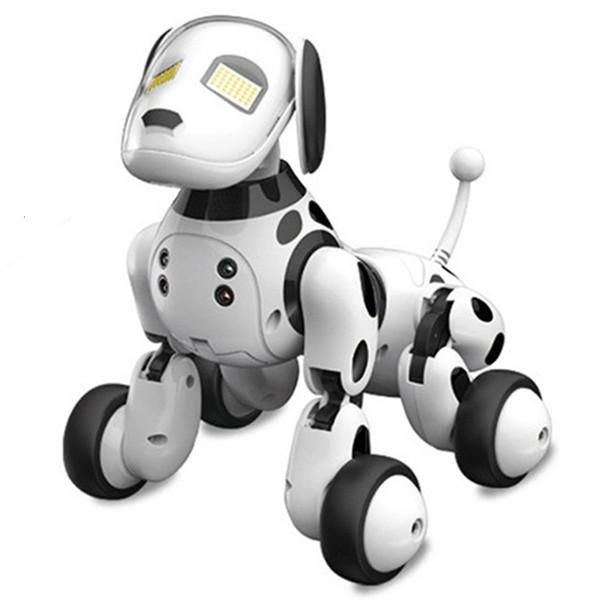 Intelligent RC Robot Chien Jouet Intelligent Électronique Animaux Chien Jouet Enfants Mignons Animaux RC Intelligent Robot Cadeau Enfants D'anniversaire Cadeau SH190913