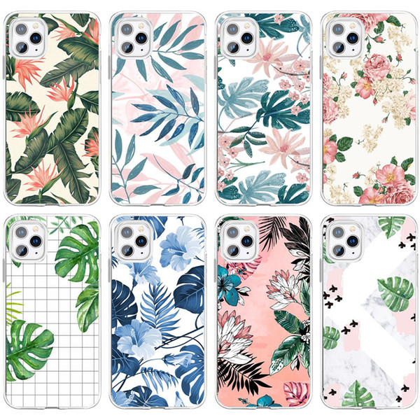 Plants & Animals Pattern iPhone 11 case
